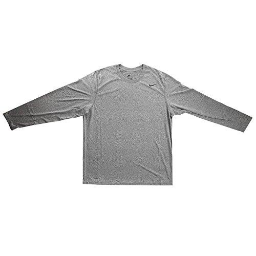 Player Replica Jersey T-shirt (Nike Long Sleeve Legend-Grey-XL)