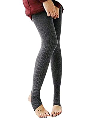 Naggoo Juniors Thermal Leggings Stirrup Winter Warm Tights Pants