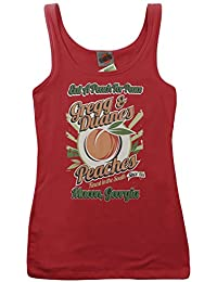 Allman Brother Inspired Eat A Peach For Peace, Women's Vest