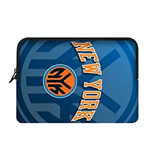 Fashionable designed Two Sides 10 Inch Laptop Sleeve with New York Knicks Logo-by Allthingsbasketball