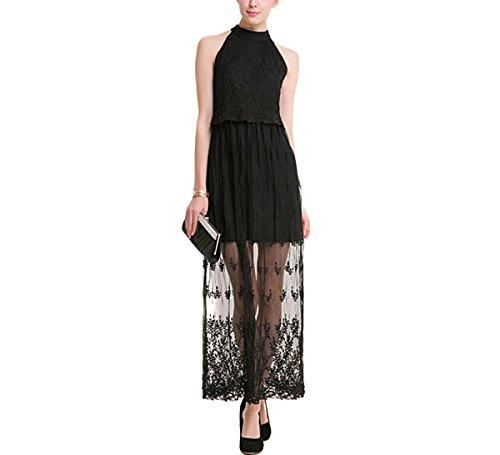 cache black halter dress - 3
