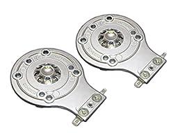 Mojo Audio 2 Full Metal JBL 2412 Horn Diaphragms - 2412H, 2412H-1, JRX, 100, 112, 115, Eon, MPro, Soundfactor