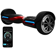 App-Enabled SWAGTRON T580 Bluetooth Hoverboard w/Speaker Smart Self-Balancing Wheel – Available on iPhone & Android