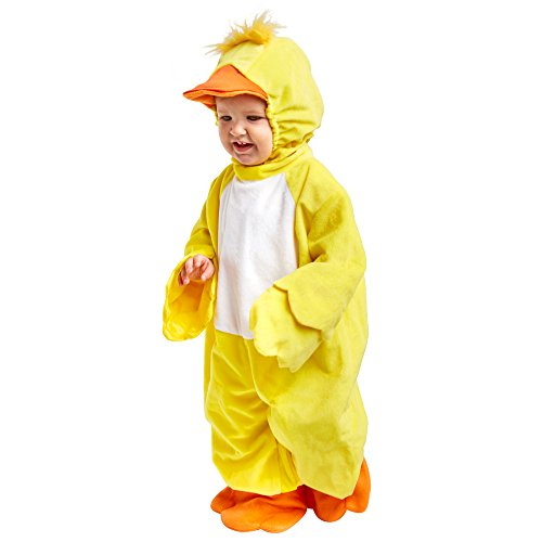 Incharacter Size Costumes Chart (Lil039; Ducky Costume - Infant)