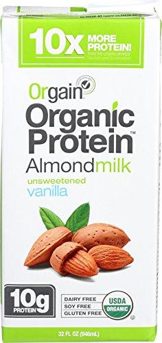 Orgain Organic Protein Unsweetened Vanilla product image