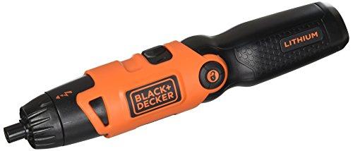 BLACK+DECKER Li2000 3.6-Volt 3 Position Rechargeable Screwdriver, Orange/Black by BLACK+DECKER (Image #2)