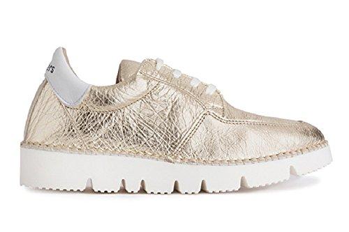 Zapato Zapato Wonders cordones Platino Wonders 6501 6501 74WTwqHxg