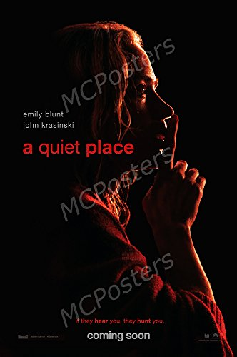 MCPosters A Quiet Place GLOSSY FINISH Movie Poster - FIL981