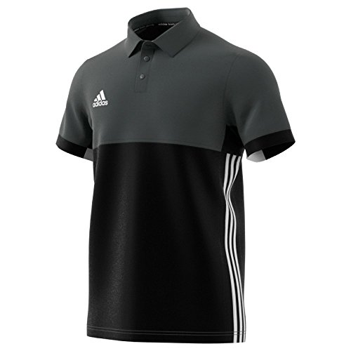 Adidas T16 Climacool Polo Männer Schwarz Grau (S)