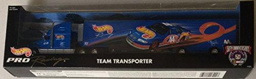 Hot Wheels Pro Racing Team Transporter Truck Rig (Nascar 50th Anniversary) -  Mattel, 17425
