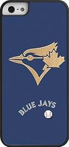 Onelee?« - MLB Team Logo, Toronto Blue Jays Team Logo iPhone 5 & 5s Case (Black) - Toronto Blue Jays 2