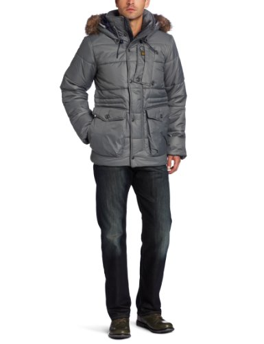 G-Star Raw Men's Whistler Hooded Field Jacket, Granite, for sale  Delivered anywhere in USA