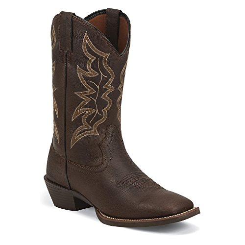Justin Boots Mens 2568 Western Riding Boots Brown - Chocolate 2SWR4