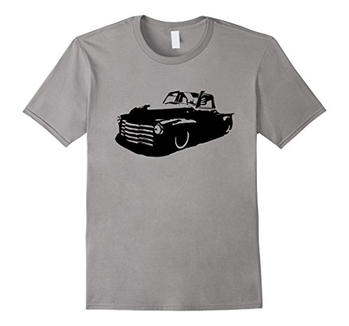 - Mens Rat Rod Hot Rod shirt 47-54 classic truck gift shirt Large Slate