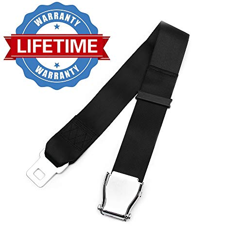 """Airplane Seat Belt Extender,7-32"""" Adjustable FITS All Airlines(Except Southwest),Safety Certified Seatbelt Extension"""