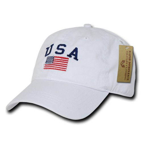 Rapiddominance Polo Style USA Cap, - Rapids Mall