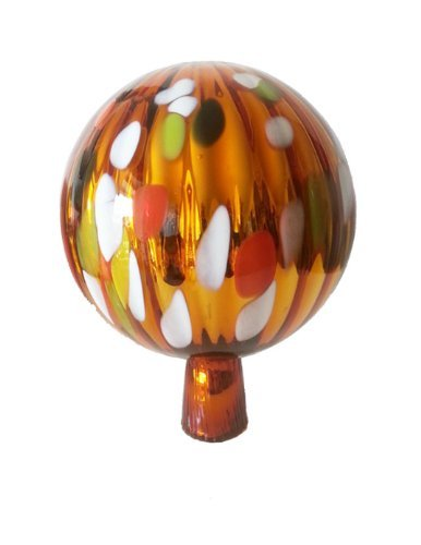 gazing-ball-garden-ball-of-mouth-blown-glass-in-gold-orange-multi-colored-mirrored-shades-diameter-a