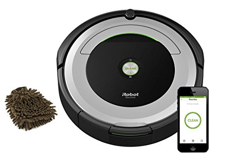 iRobot Roomba 690 Robot Vacuum with Wifi Connectivity, Wi-fi Connected Robotic Cleaner (Complete Set) w/Bonus: Premium Microfiber Cleaner Bundle -