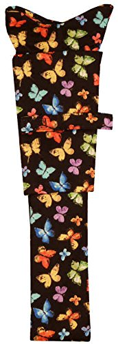 Stethoscope Cover - Multi Butterflies on Black