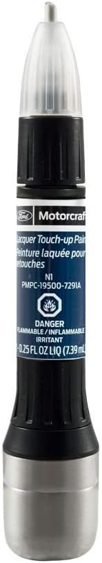 Genuine Ford Motorcraft PMPC-19500-7291A Touch Up Paint Bottle Blue Jeans N1 & Clear Coat