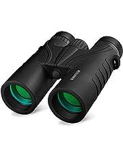 Binoteck 10x42 Binoculars for Adults - Professional HD Roof BAK4 Prism Lens Binoculars for Bird Watching, Hunting, Travel, Sports, Opera, Concert, with Carrying Bag (1.0 lbs)