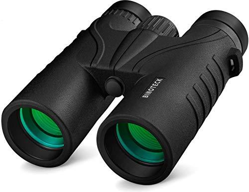 🥇 Binoteck 10×42 Binoculars for Adults – Professional HD Roof BAK4 Prism Lens Binoculars for Bird Watching