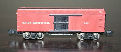 - N Scale 1800s Old Timer Box Car Freight train -