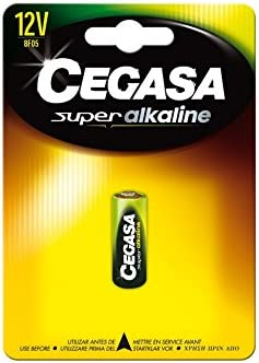 CEGASA Superalkaline - Pack Pila 8F05, Color Verde