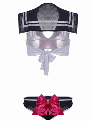 471afb6785ec Jual OYBY Student's Lovely Bow-Knot Underwear Suit - Lingerie Sets ...