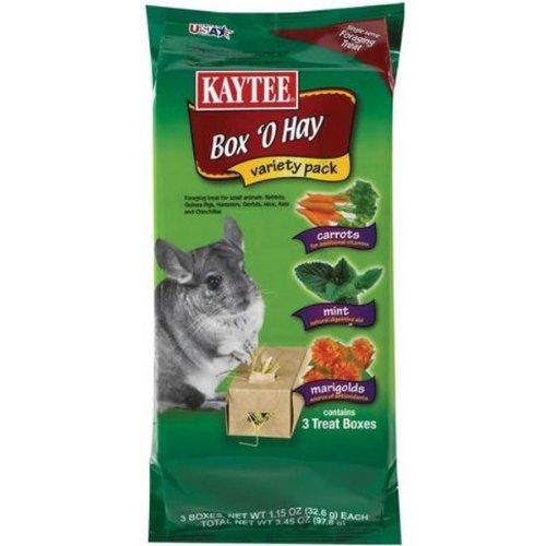 Box O Hay Value Pack Flavor: Marigold / Mango / Cranberry, My Pet Supplies
