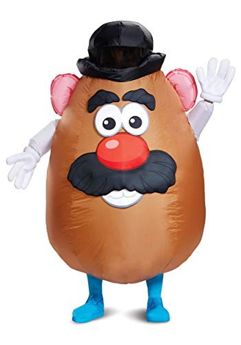 Inflatable Mr. Potato Head Adult Costume Standard Brown -