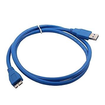 DealMux Ordenador Impresora USB 3.0 A a Micro-B Cable de Datos ...