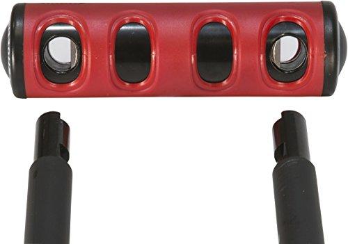 Abus U Mini 40 Mini Round Shackle U Lock, 5.5'/15mm Heavy Duty Compact Bike Lock