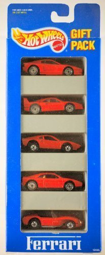 1993 - Mattel - Hot Wheels - Ferrari Gift Pack - 5 Models /