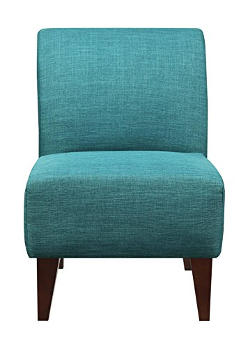 Elements North Accent Slipper Chair in Teal