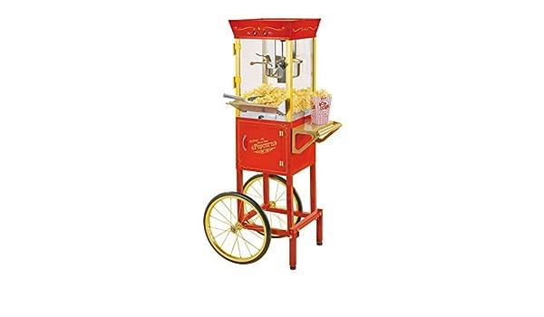 Nostalgia ccp510 53-inch Tall comercial 6-Ounce eléctrica carrito de palomitas de maíz: Amazon.es: Hogar