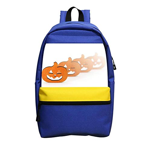 (Pumpkin Mask Plate Schoolbag Boys And Girls 1-6 Year Old Children Backpack)