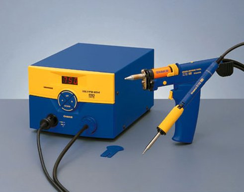 Hakko FM204-CP Desoldering and Soldering Station Conversion Set with FM204-01 and FM2027-03