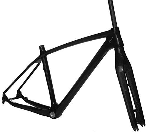 Full Carbon UD Glossy 27.5er Mountain Bike MTB 650B BB30 Frame and Fork 19'