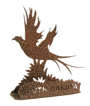 South Dakota Pheasant Business Card Holder