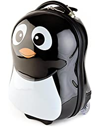 BRUBAKER Penguin Suitcase for Kids