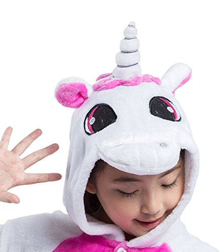 Homewear Akaayuko Boys Unicorn Cosplay Onesies Kigurumi Girls Animal Pink nHH5WY18