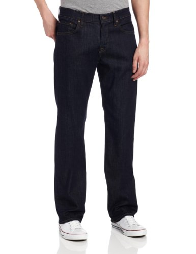 7 For All Mankind Men's Austyn Relaxed Straight-Leg Long Inseam Jean in Dark/Clean, Dark/Clean, 30x36 ()