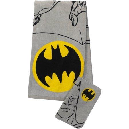 Price comparison product image DC Comics Batman 2-Piece Bath Wash Set