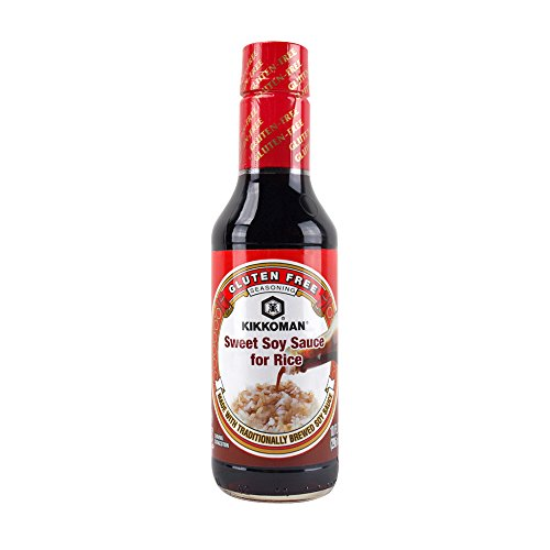 Soy Sweet Soy Sauce - Kikkoman Sweet Soy Sauce for Rice, 10 Ounce (Pack Of 1)