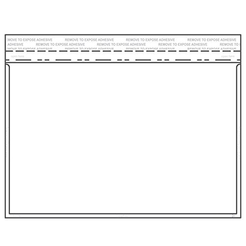 crystal clear envelopes - 3