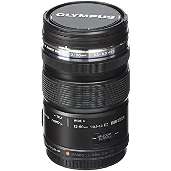 Olympus M.ZUIKO DIGITAL ED 12-50mm F3.5-6.3 EZ Lens (Black)
