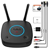 Wireless Long Range Bluetooth Transmitter Adapter for TV PC Audio with Digital Optical Toslink 3.5mm AUX RCA 1Mii...