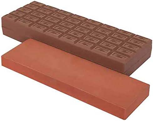 ナニワ チョコレート型シリコンケース付き砥石 チョコレー砥(と) QC-0011