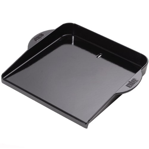 Weber 6466 Glossy Enameled Plancha for Grills